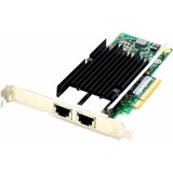 AddOn D-Link DXE-820T Comparable 10Gbs Dual Open RJ-45 Port 100m PCIe x8 Network Interface Card
