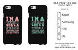 Weirdo Freak Cute BFF Matching Phone Cases For Best Friends Great Gift Idea