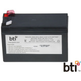 BTI Replacement Battery RBC17 for APC - UPS Battery - Lead Acid