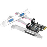 SIIG Cyber JJ-P21211-S1 3-port PCI Express Serial/Parallel Combo Adapter