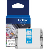 "Brother Genuine CZ-1005 continuous length ~ 2 (1.97"") 50 mm wide x 16.4 ft. (5 m) long label roll featuring ZINK Zero Ink technology"