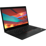 "Lenovo ThinkPad X395 20NL0009US 13.3"" Touchscreen Notebook - 1920 x 1080 - Ryzen 5 PRO 3500U - 8 GB RAM - 256 GB SSD - Black"