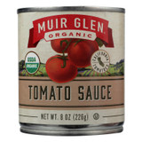 Muir Glen Organic Regualr Tomato Sauce - Case Of 24 - 8 Fl Oz