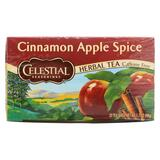 Celestial Seasonings Herbal Tea Caffeine Free Cinnamon Apple Spice - 20 Tea Bags - Case Of 6
