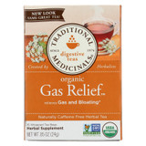Traditional Medicinals Tea - Organic - Gas Relief - 16 Bags - Case Of 6
