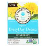 Traditional Medicinals Tea - Organc - Evrydy Detox - Dndln - 16 Ct - 1 Case