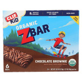 Clif Kid Zbar - Chocolate Brownie - Case Of 9 - 7.62 Oz