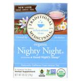 Traditional Medicinals Organic Nighty Night Herbal Tea - 16 Tea Bags - Case Of 6