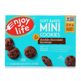 Enjoy Life - Soft Baked Minis - Double Chocolate Brownie - Case Of 6 - 6 Oz.
