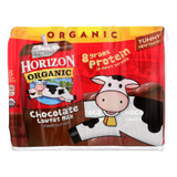 Horizon Organic Dairy Milk - Organic - 1 Percent - Lowfat - Box - Chocolate - 6/8 Oz - Case Of 3