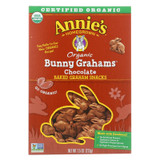 Annie's Homegrown Bunny Grahams Chocolate - Case Of 12 - 7.5 Oz
