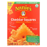 Annie's Homegrown Cheddar Squares Cheddar Squares - Case Of 6 - 11.25 Oz