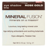 Mineral Fusion - Eye Shadow Trio - Rose Gold - 0.1 Oz.