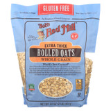 Bob's Red Mill - Thick Rolled Oats - Gluten Free - Case Of 4-32 Oz.
