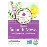Traditional Medicinals Organic Smooth Move Herbal Tea - 16 Tea Bags - Case Of 6