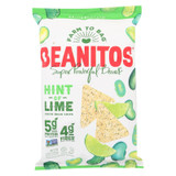 Beanitos - White Bean Chips - Hint Of Lime - Case Of 6 - 5 Oz.