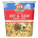 Dr. Mcdougall's Vegan Hot And Sour Noodle Soup Big Cup - Case Of 6 - 1.9 Oz.