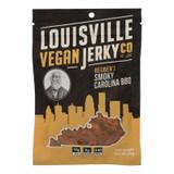 Louisville Vegan Jerky Jerky - Vegan - Carolina Bbq - Case Of 10 - 3 Oz