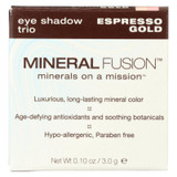 Mineral Fusion - Eye Shadow Trio - Esp Gold - 0.1 Oz.