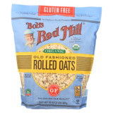 Bob's Red Mill - Organic Old Fashioned Rolled Oats - Gluten Free - Case Of 4-32 Oz