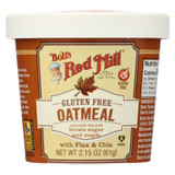 Bob's Red Mill - Gluten Free Oatmeal Cup Brown Sugar And Maple - 2.15 Oz - Case Of 12