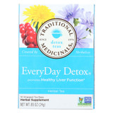 Traditional Medicinals Everyday Detox Herbal Tea - Case Of 6 - 16 Bags