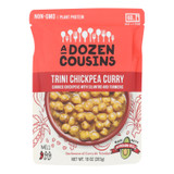 A Dozen Cousins - Ready To Eat Beans - Trini Chickpea Curry - Case Of 6 - 10 Oz.