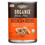 Castor And Pollux Organic Dog Food - Chicken Wing And Thigh - Case Of 12 - 12.7 Oz.