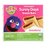 Earth's Best Sunny Days Strawberry Snack Bars - Case Of 6 - 5.3 Oz