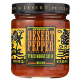 Desert Pepper Trading - Medium Hot Peach Mango Salsa - Case Of 6 - 16 Oz.