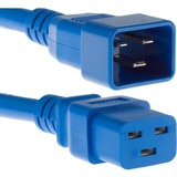 Unirise Usa, Llc 6ft Blue C19-c20 Pdu Power Cord, Sjt, 20amp, 250v