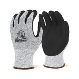 FIRM TOUCH (CUT A4) Sandy Nitrile Palm Coated - High Cut Resistant Shell