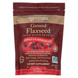 Spectrum Essentials Ground Flax With Mixed Berries - 12 Oz