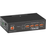 Black Box Industrial-Grade USB Hub, 4-Port with Isolation