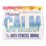 Natural Vitality Calm Counter Display - Assorted Flavors - Case Of 8 - 5 Packs