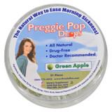 Three Lollies Preggie Pop Drops Natural Green Apple - 21 Pieces