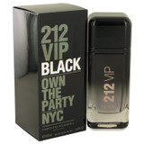 212 VIP Black by Carolina Herrera Eau De Parfum Spray oz for Men