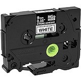 Brother HGES2215PK Black on White Extra-Strength Adhesive Label Tape