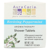 Aura Cacia - Reviving Aromatherapy Shower Tablets Peppermint - 3 Tablets
