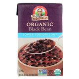 Dr. Mcdougall's Organic Black Bean Lower Sodium Soup - Case Of 6 - 18 Oz.