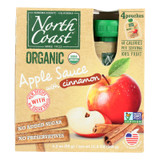 North Coast - Apple Sauce Cinnamon - Case Of 6 - 4/3.2 Oz
