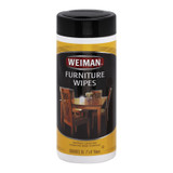 Weiman Furniture Wipes - Case Of 4 - 30 Count