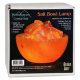 Himalayan Salt Bowl Lamp With Stones