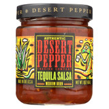Desert Pepper Trading - Medium Burn Tequila Salsa - Case Of 6 - 16 Oz.