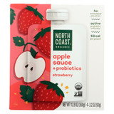 North Coast - Aplsce Probiotic Strawberry - Case Of 6 - 4/3.2 Oz