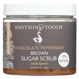 Soothing Touch Brown Sugar Scrub - Chocolate/peppermint - 16 Oz