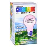 Chromalux Lumiram Full Spectrum 3 Way 50/100/150 Watts - Frosted - 1 Light Bulb