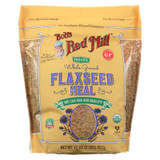 Bob's Red Mill - Organic Flaxseed Meal - Brown - Case Of 4 - 32 Oz