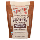 Bob's Red Mill - Chocolate Protein Powder Nutritional Booster - 16 Oz - Case Of 4