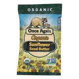 Once Again Organic Sunflower Seed Butter  - Case Of 10 - 1.15 Oz